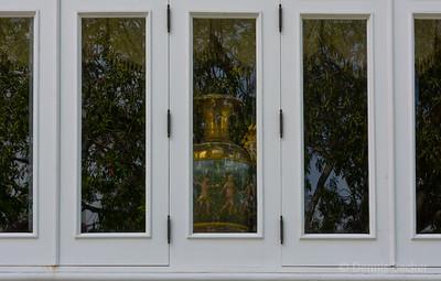 Window reflection at summer palace