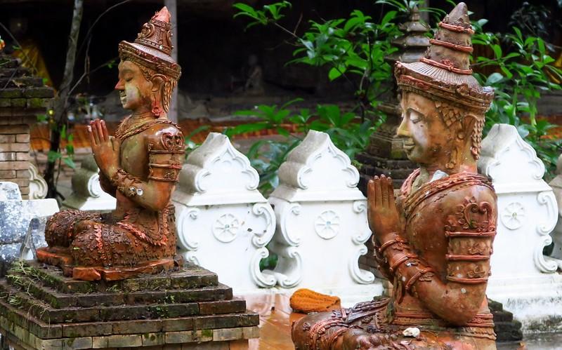 Visiting Wat Palad in Chiang Mai