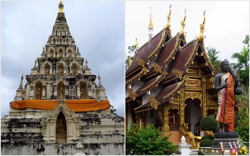 Visiting Wat Chedi Liam in Chiang Mai