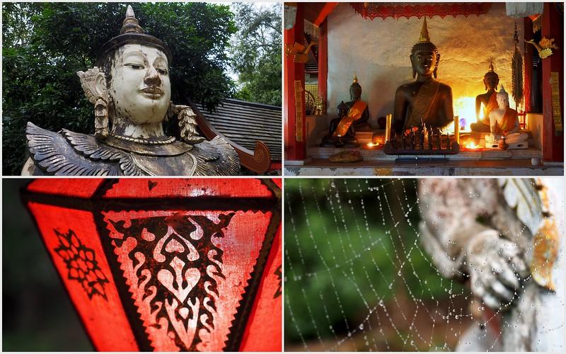 Touring Wat Palad, Chiang Mai