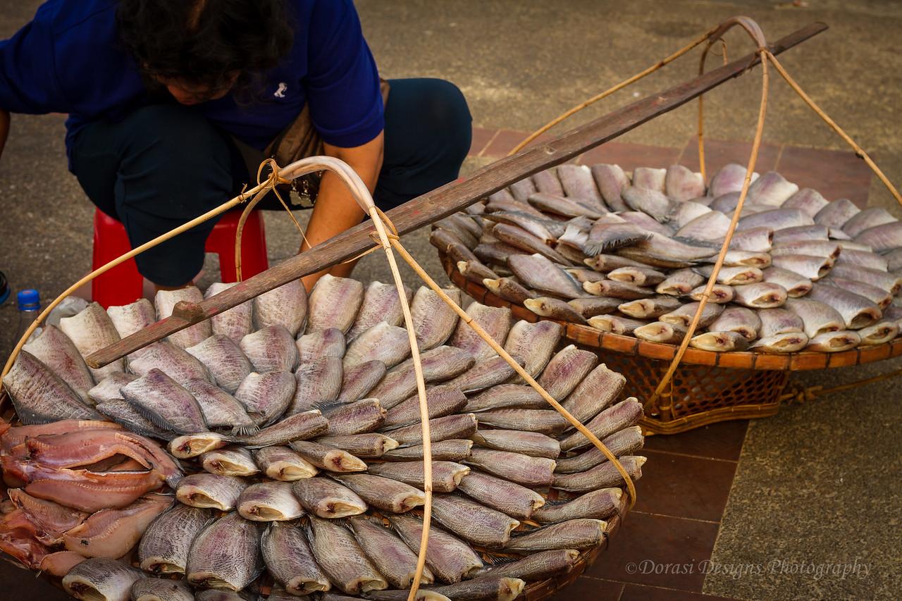 At the market; Bangkok