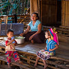 Karen Long Neck Tribe; siblings