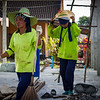 women construction workers; Phuket