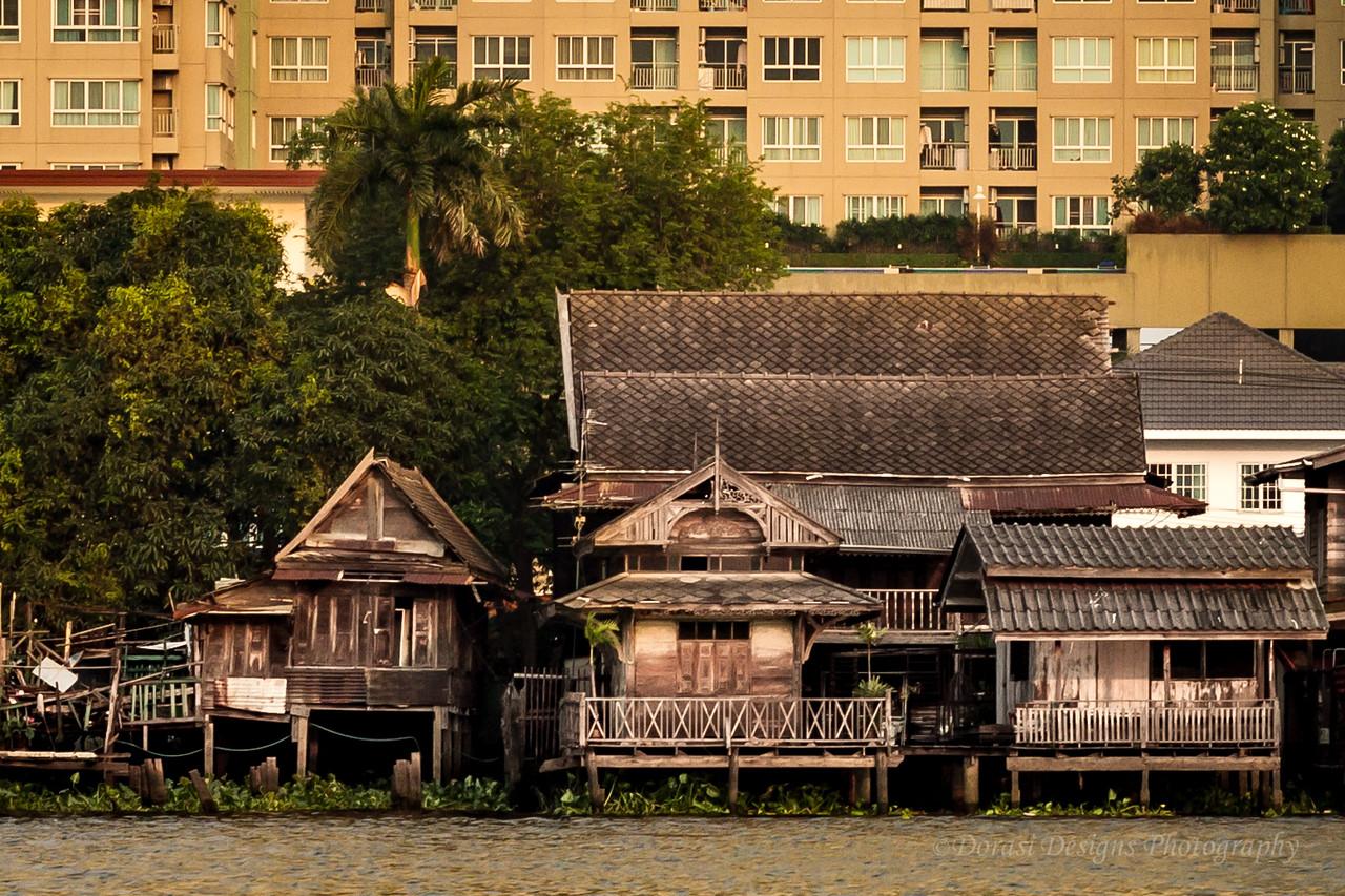 Past and present: Bangkok