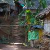 Karen Long Nec Tribe; Village housing