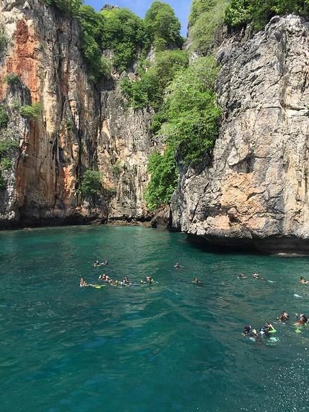 Phi Phi islands; dive drop spot (Mobile upload: iPhone image)