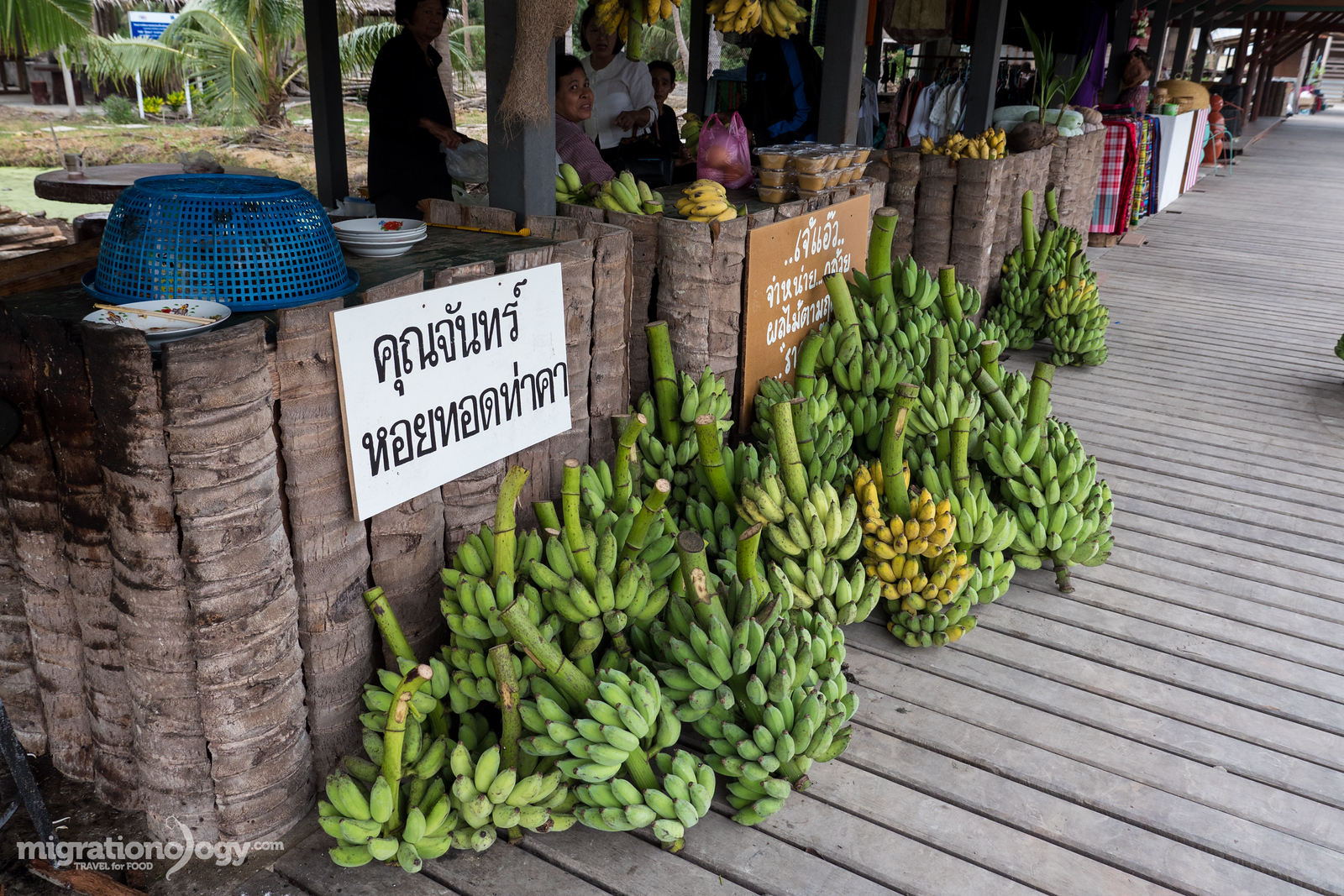 best floating market near Bangkok