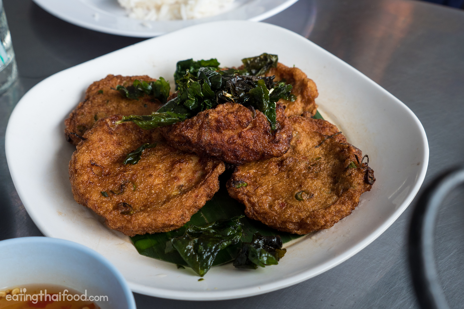 Thai fried fish-cakes