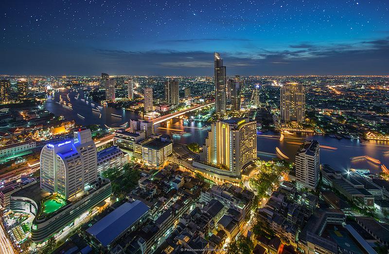Bangkok Riverside, image copyright Prachanart Viriyaraks