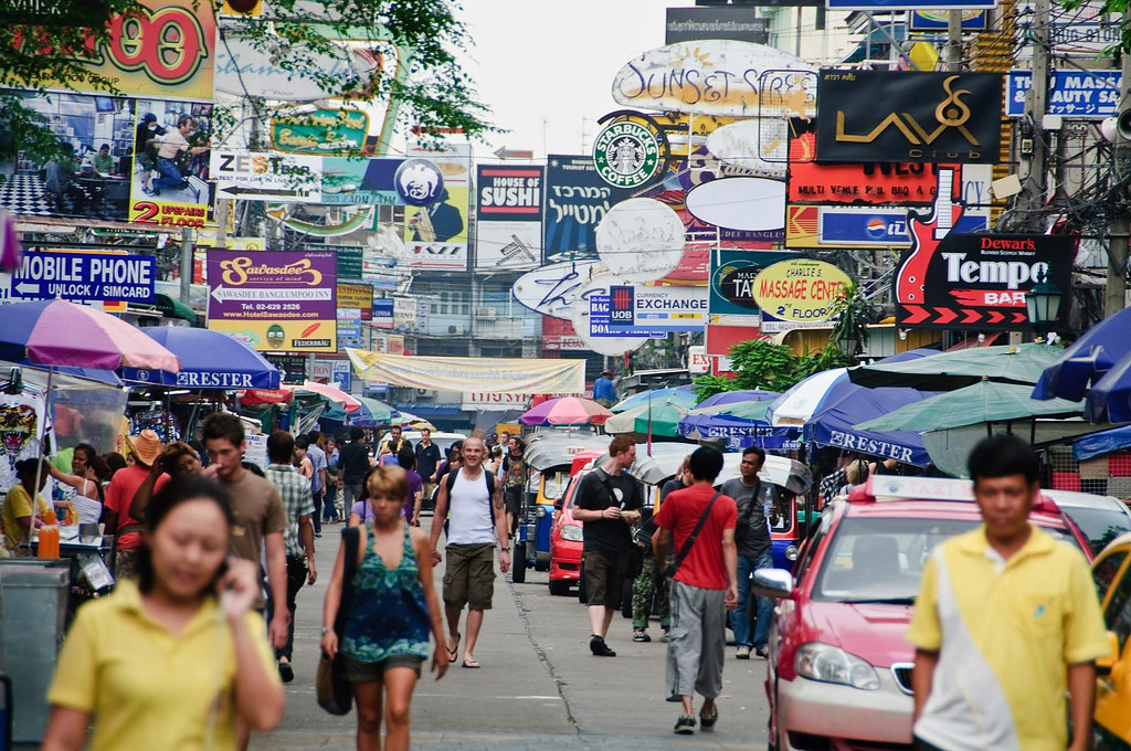 Khao San Road, image copyright Robert Brands