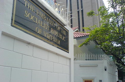 Vietnamese Embassy Bangkok, image copyright CM