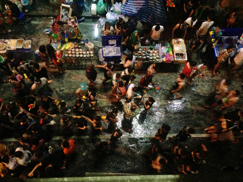 Songkran In Bangkok, image copyright James Antrobus