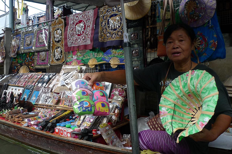 Bangkok Markets, image copyright Walter Lim