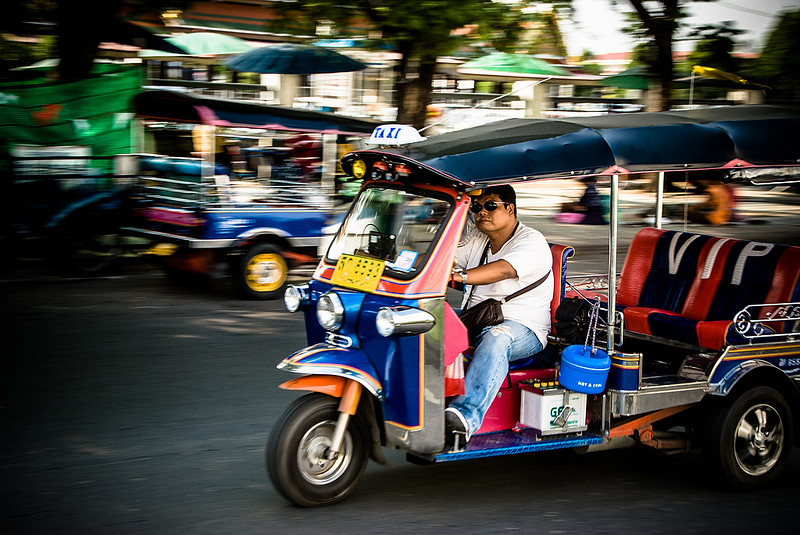 2 Days in Bangkok Itinerary, image copyright Didier Baertschiger