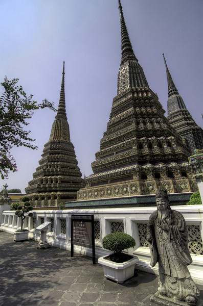 Grand Palace Royal Temple, Bangkok, Thailand 21 March 2012.