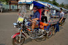 Travelling by tuk-tuk in Chiang Rai Golden Triangle, Thailand, March 28, 2012. — with Bill Hansen and Davey Wavey.
