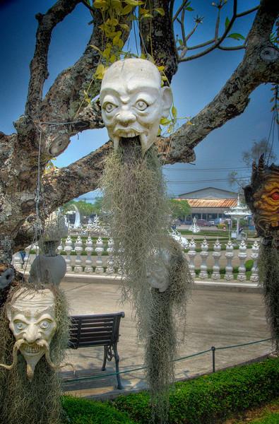 At White Temple, Chaing Rai, Thailand. 26 March 2012.