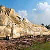 isabel guerra clark,Reclining Buddha at Ayutthaya
