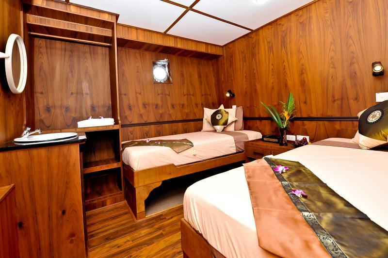 White Manta Thailand Liveaboard Cabin 9+10 (Standard Twin)