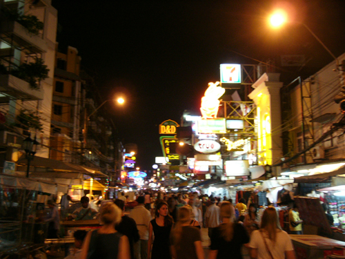 World-famous Khao Sarn Road