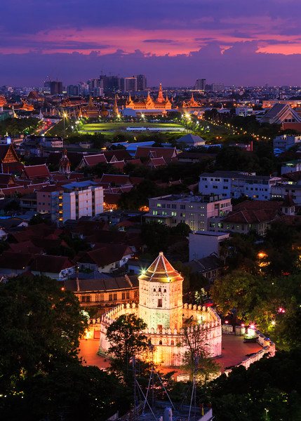 Rattanakosin at Night