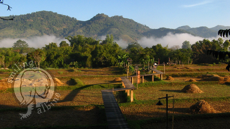 A perfect morning at Rai Saeng Arun