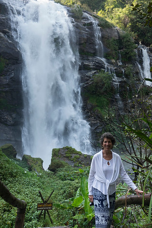 Wachirathan Waterfall  in the Cloud Forest