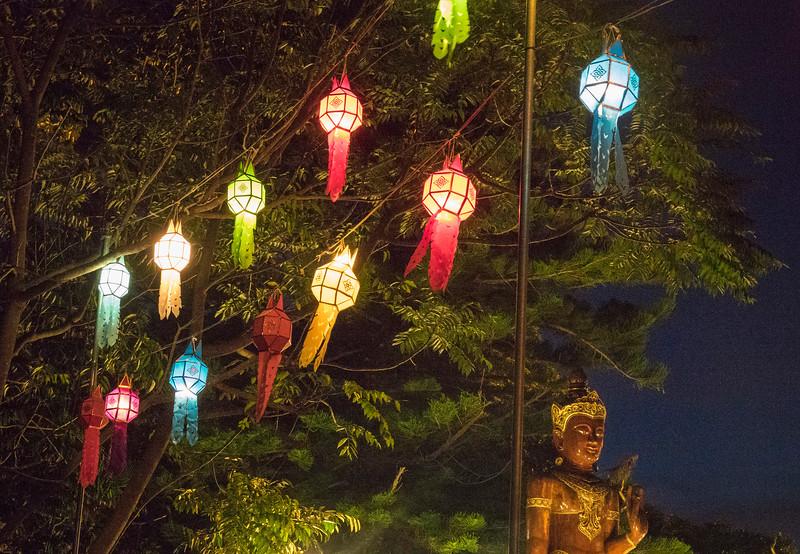 Lanterns A-Glow