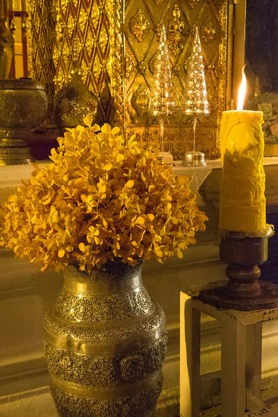 Golden flowers