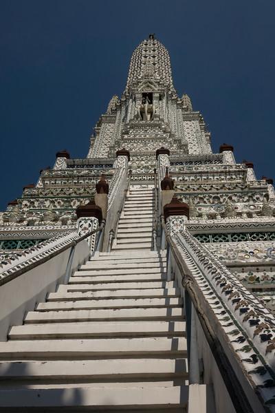 "Towering Wat Arun - ""Temple of Dawn"""