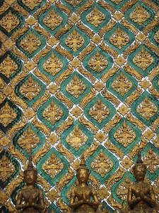 Detail of the side of Phra Mondop