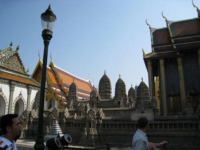 Scale model of Angor Wat