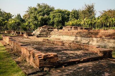 Wat Nan Chang, located in Ancient Lost City Wiang Kum Kam