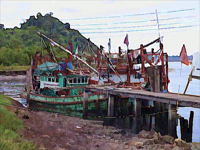 Fishing village south of Bangkok