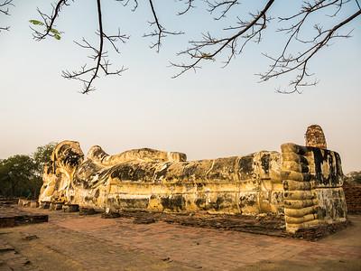 Ayuttaya Reclining Buddha