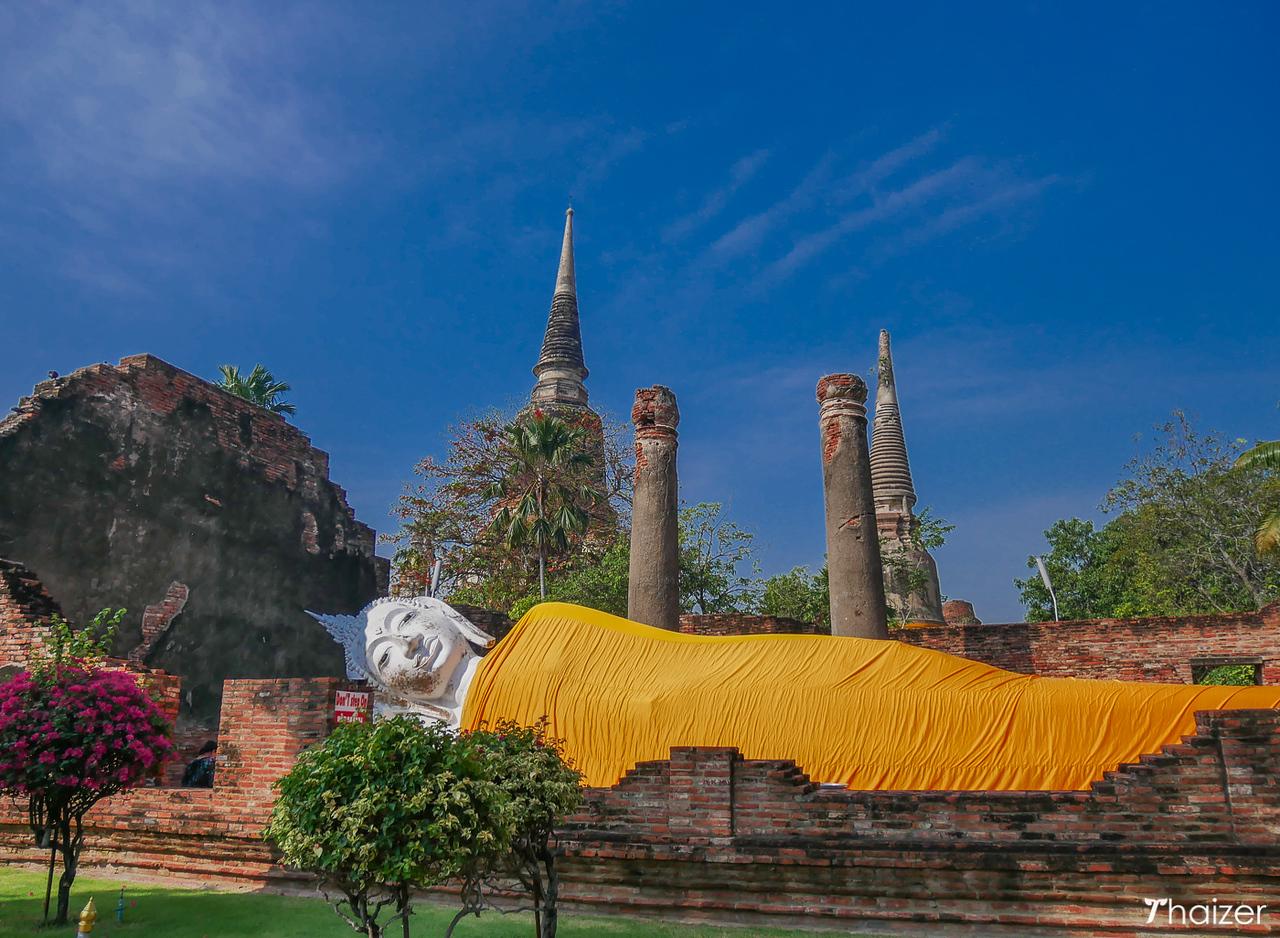 Reclining Buddha at Wat Yai Chai Mongkhon