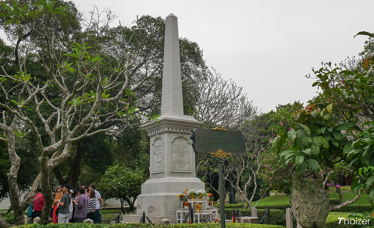 memorial at Bang Pa In Palace, Ayutthaya