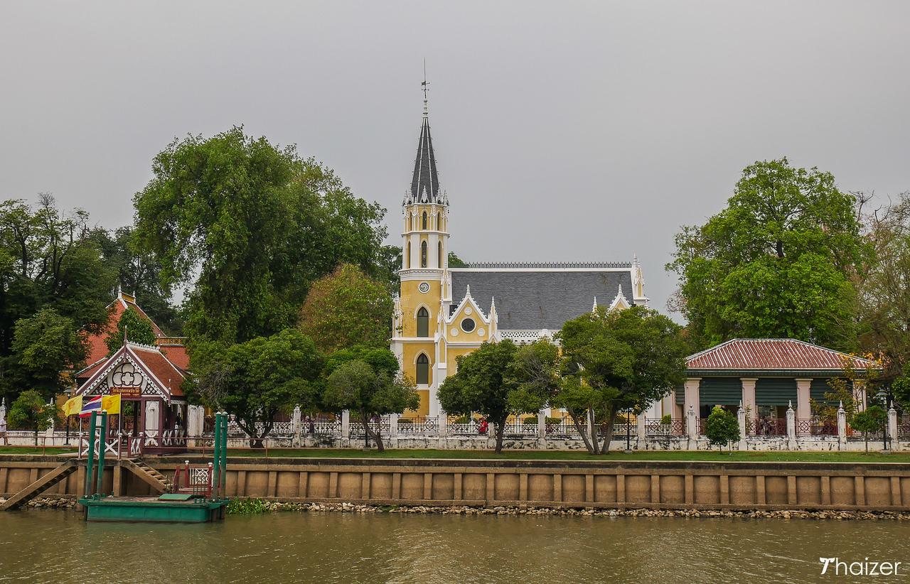 Wat Niwet Thamprawat, Chao Phraya River, Ayutthaya