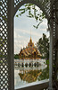 The Aisawan Dhiphya-Asana floating Pavilion at Bang Pa In, Thailand, Asia.