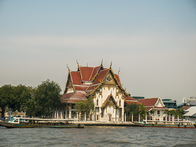 Bangkok Temple by the river