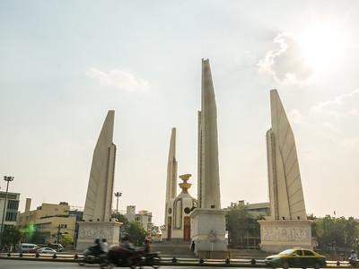 Thailand Democracy Monument