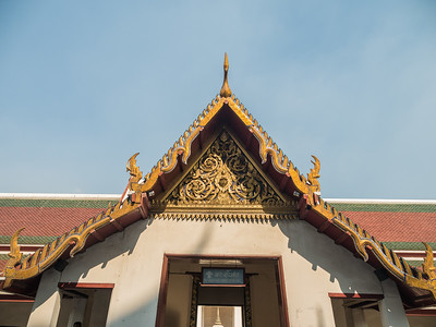 Bangkok Temple Roof