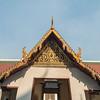Bangkok Temple Roof