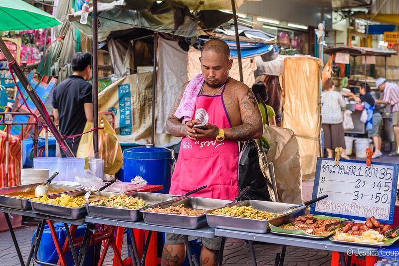 Street Food in the Market