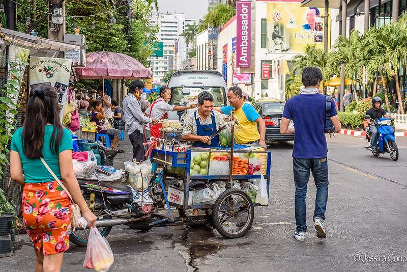 Fresh Fruit Vendor
