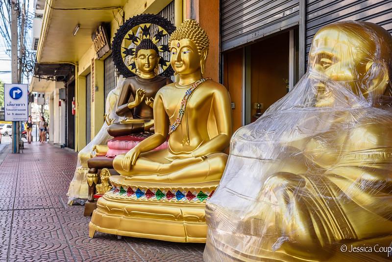 Buddhas on the Street