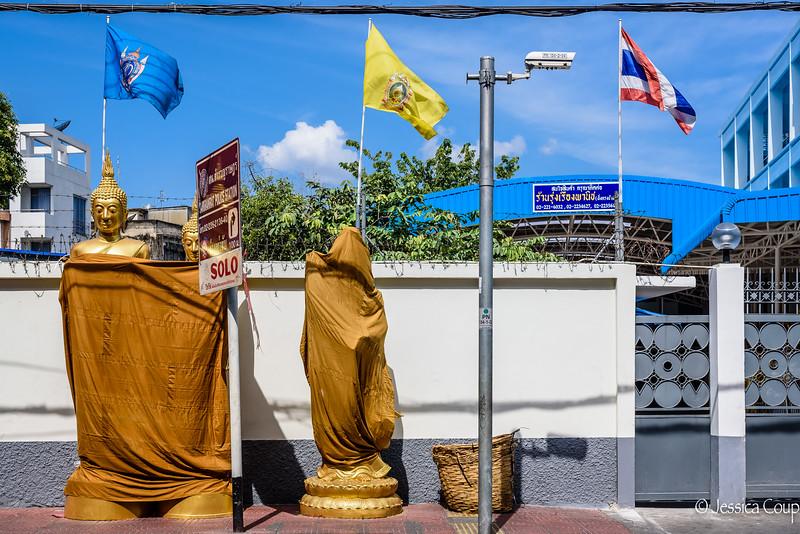 Wrapped Buddhas
