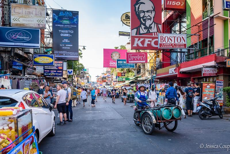 Daytime on Khao San Road