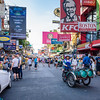 Daytime on Khao San Road