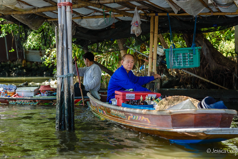 Floating Shops in the Shade
